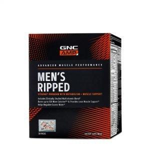 GNC AMP Men's Ripped Vitapak® Program Review