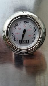 weber spirit s320 grill thermometer